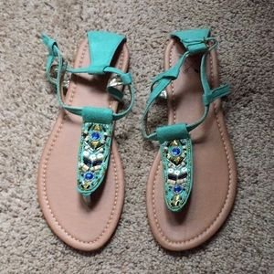 Never been worn sandals